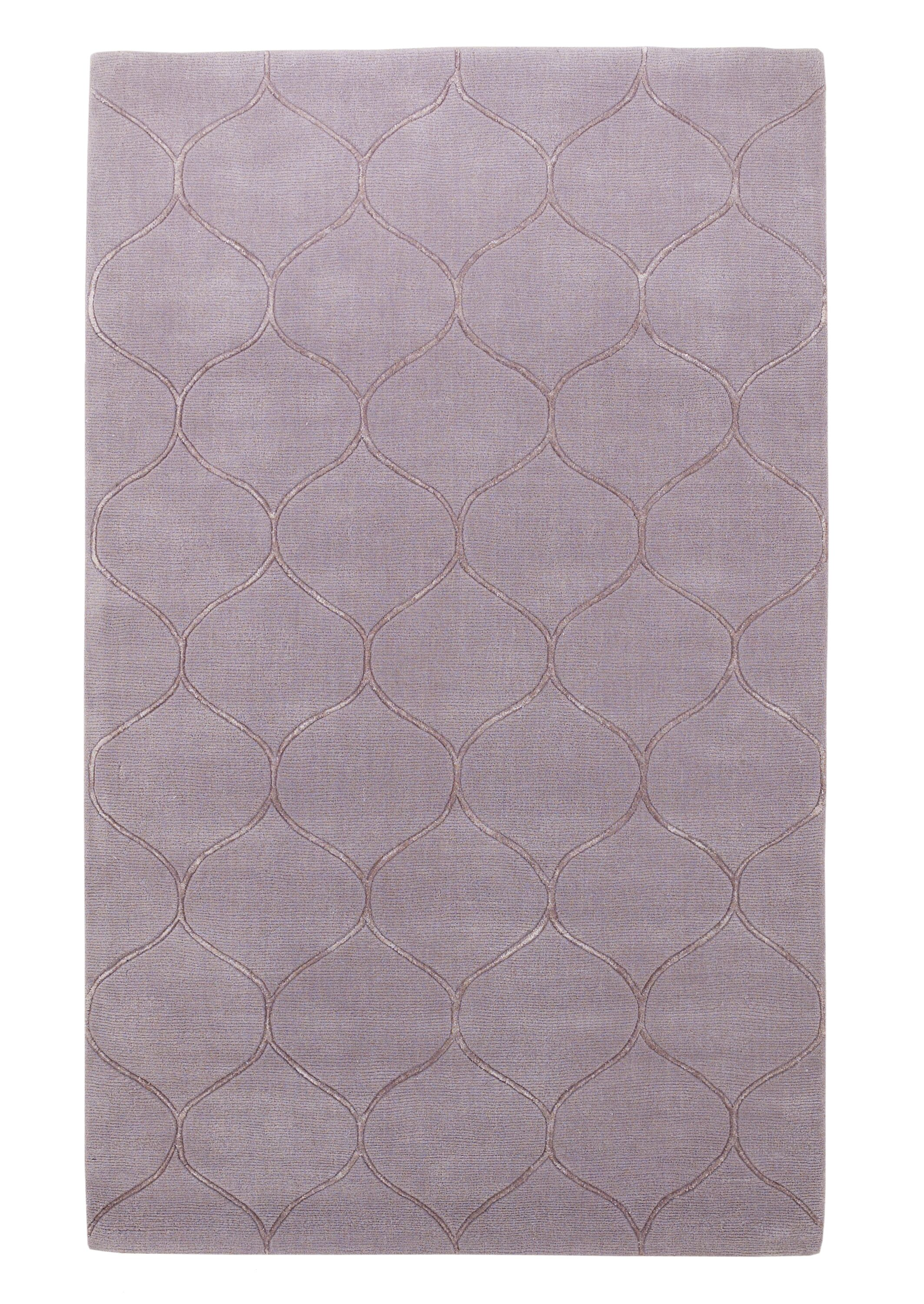 Bog Water Harmony Lavender Area Rug Rug Size: Rectangle 8' x 10'
