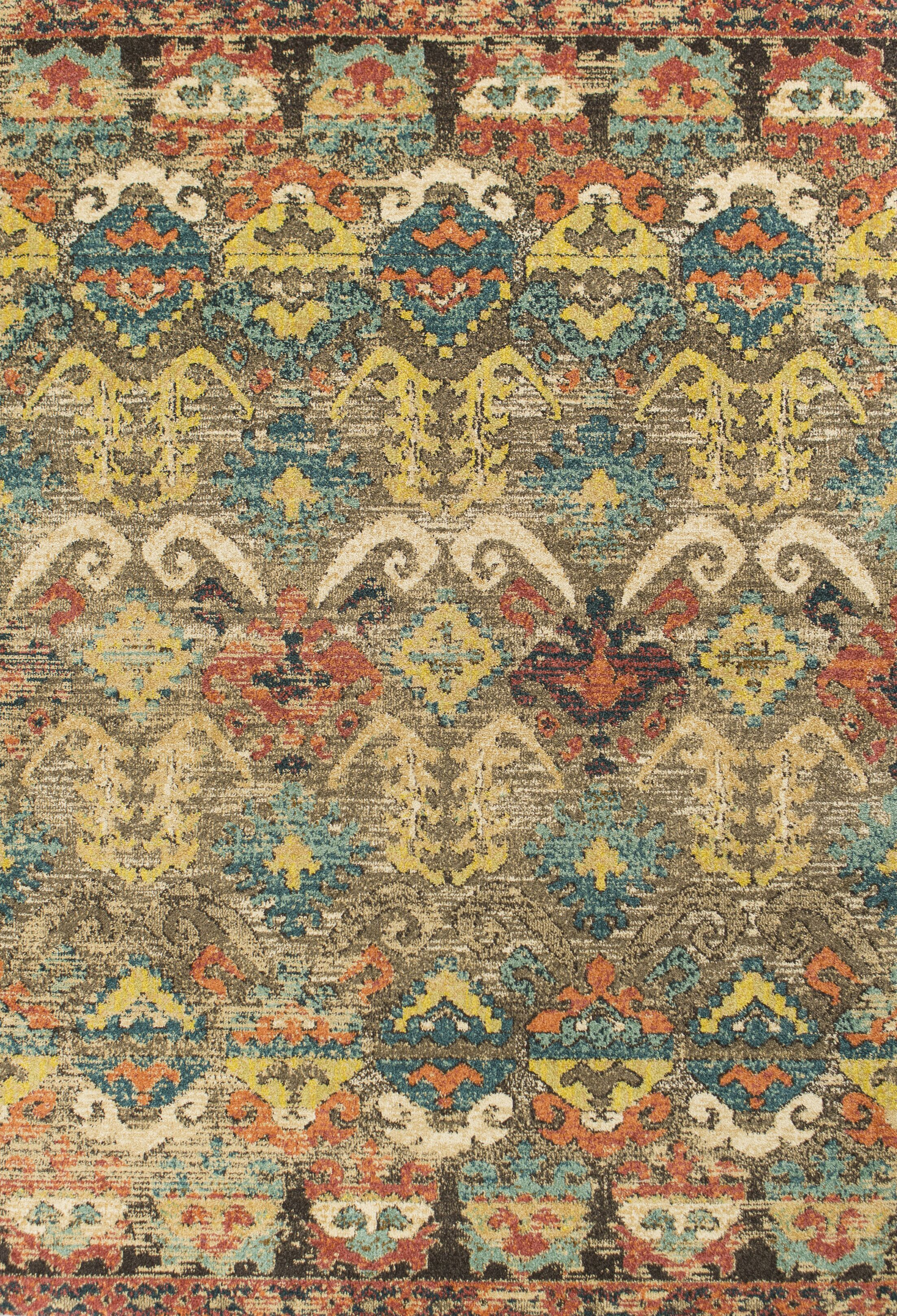 Holbrook Taupe Area Rug Rug Size: Rectangle 3'3