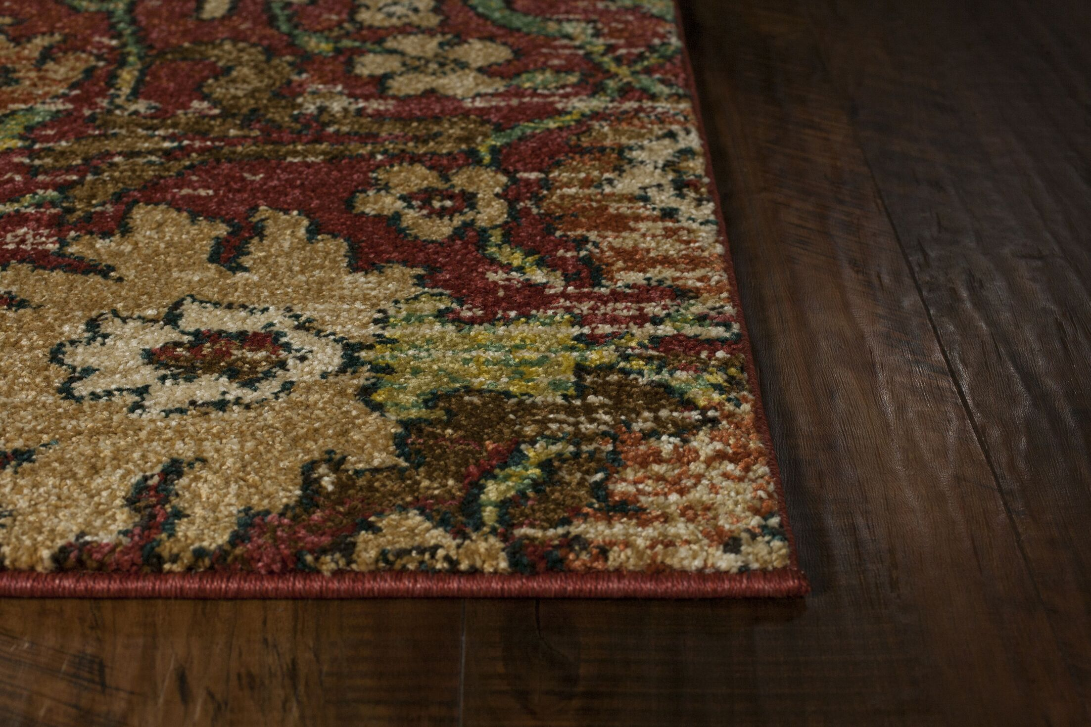 Sickles Spice Area Rug Rug Size: Rectangle 9'10