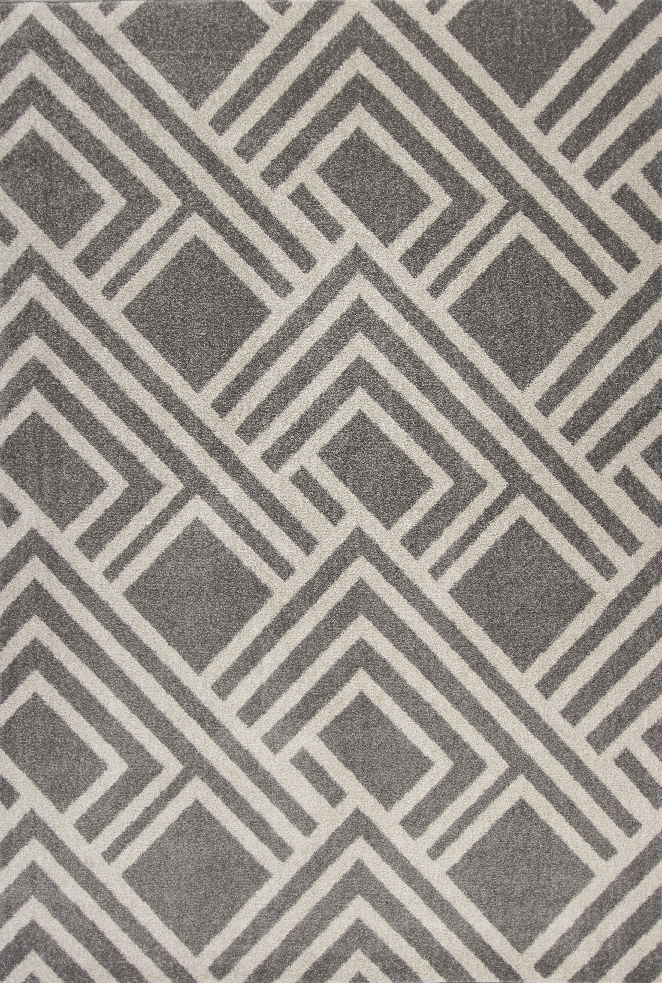 Lowesdale Gray Indoor/Outdoor Area Rug Rug Size: 7'7