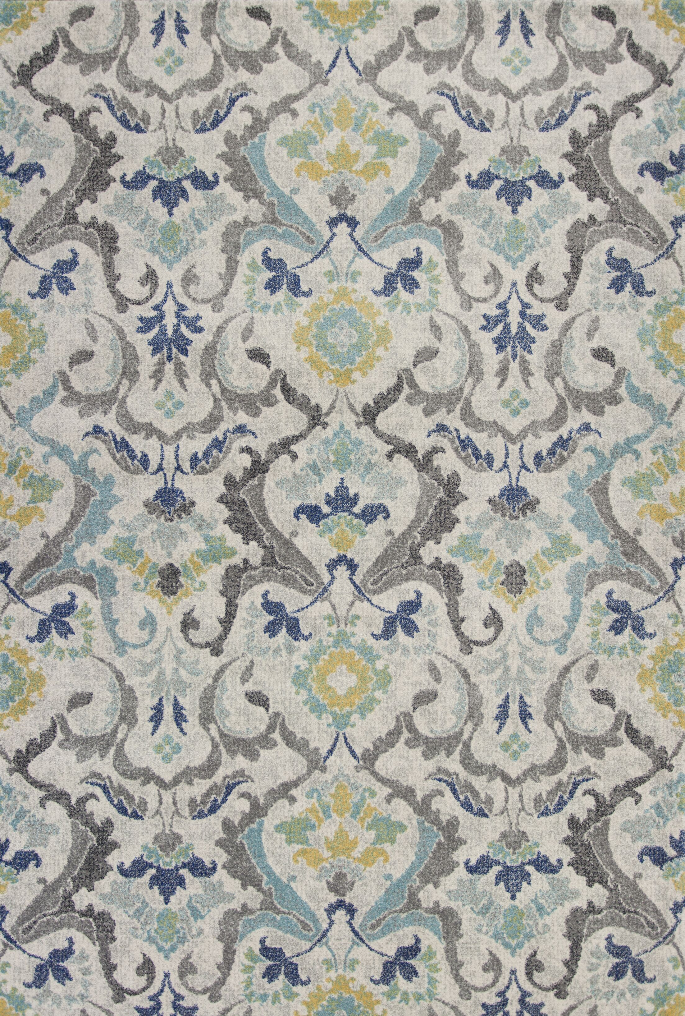 Curtice Gray Harmony Area Rug Rug Size: Rectangle 5'3