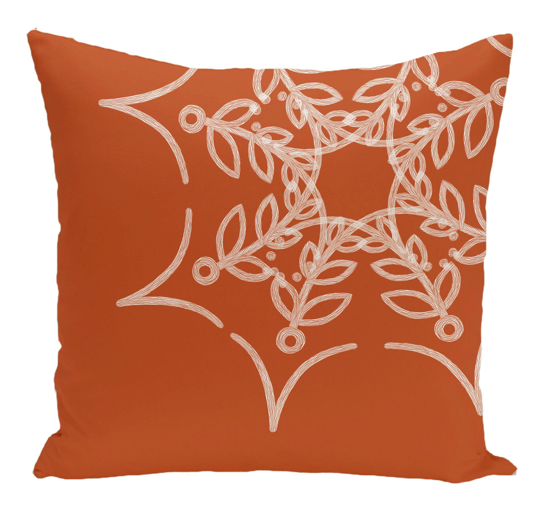 Web Art Holiday Print Throw Pillow Size: 26
