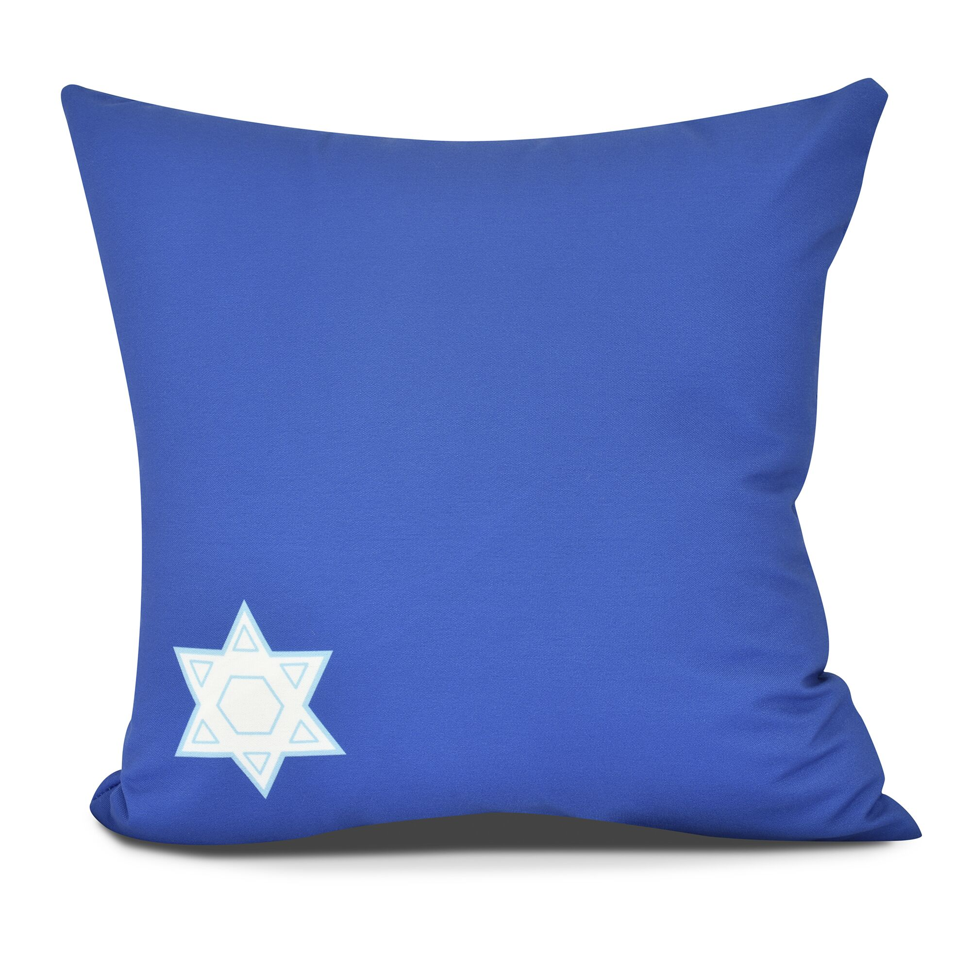 Star's Corner Throw Pillow Color: Royal Blue