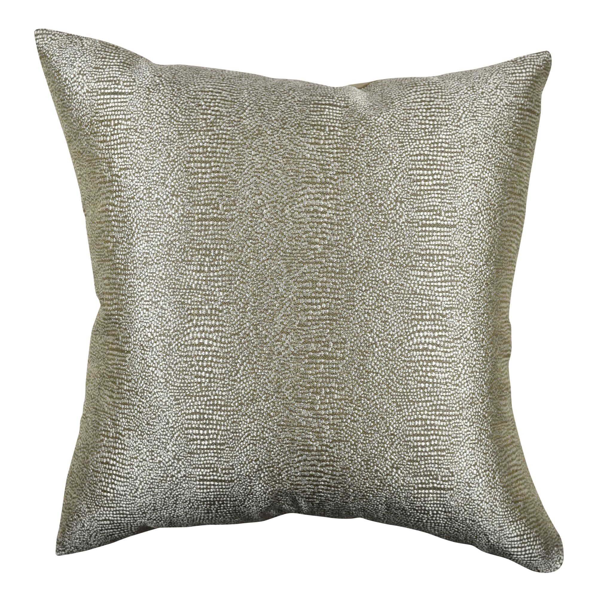 Paradise Designer Fabric Throw Pillow Size: 20