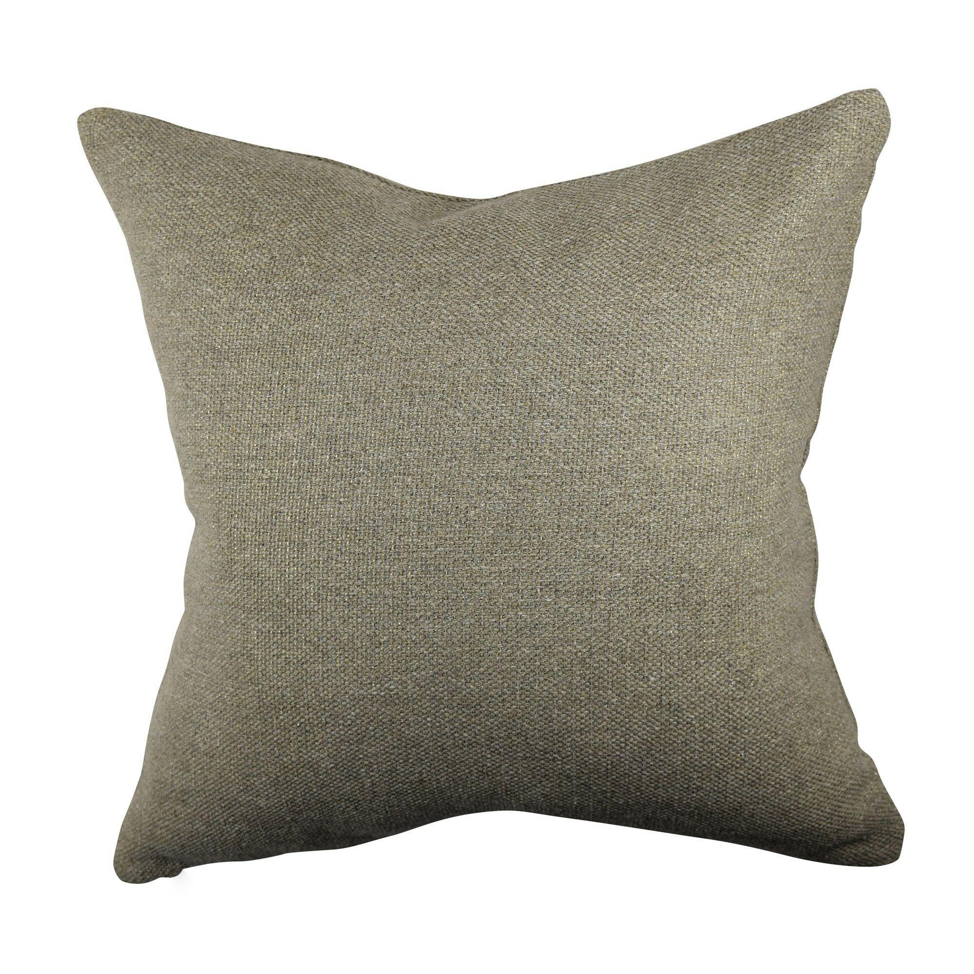 Designer Throw Pillow Size: 18