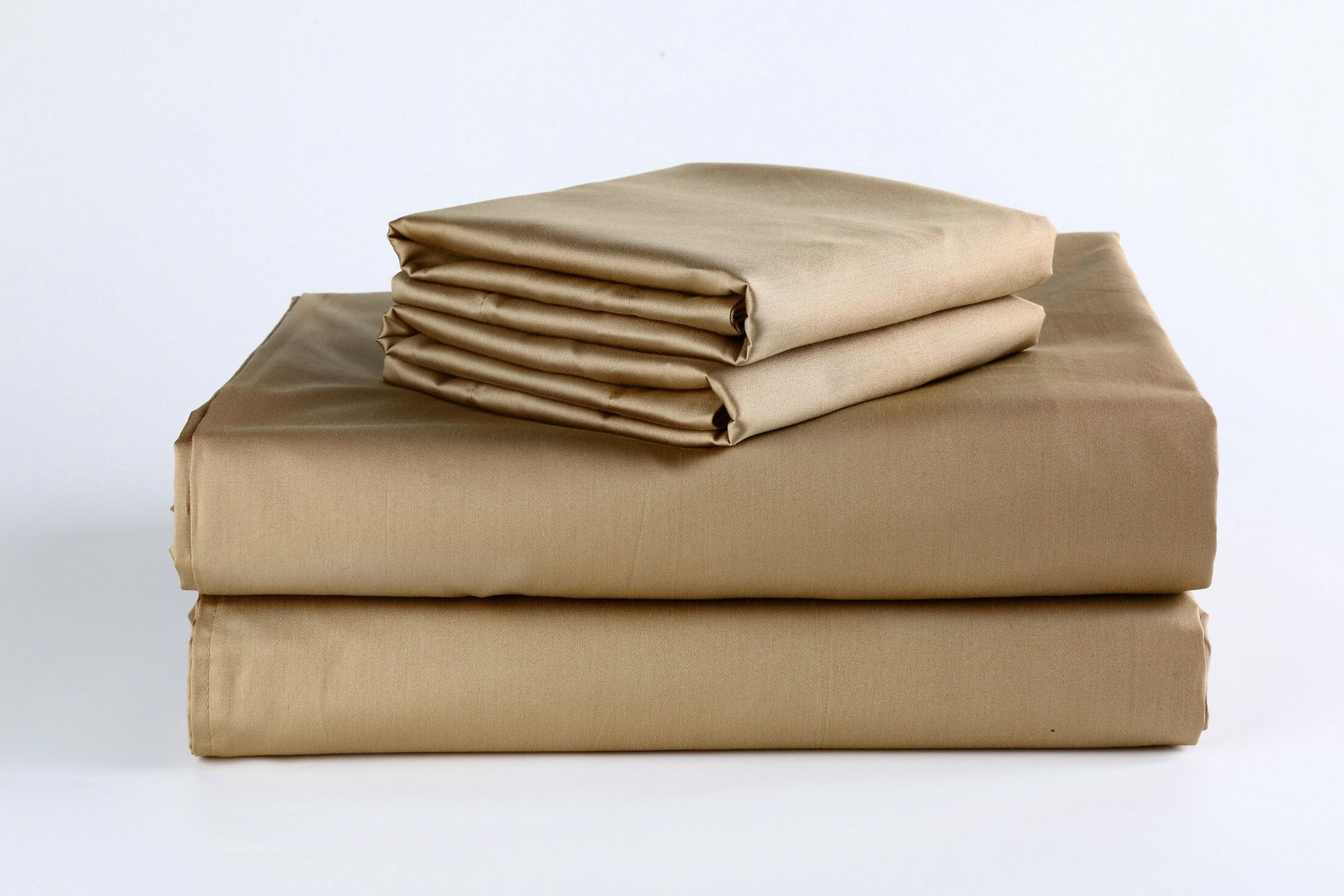 400 Thread Count 100% Cotton Sheet Set Size: King, Color: Mustard Gold