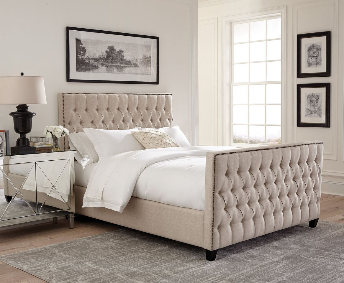 Leilani Upholstered Panel Bed Size: Twin