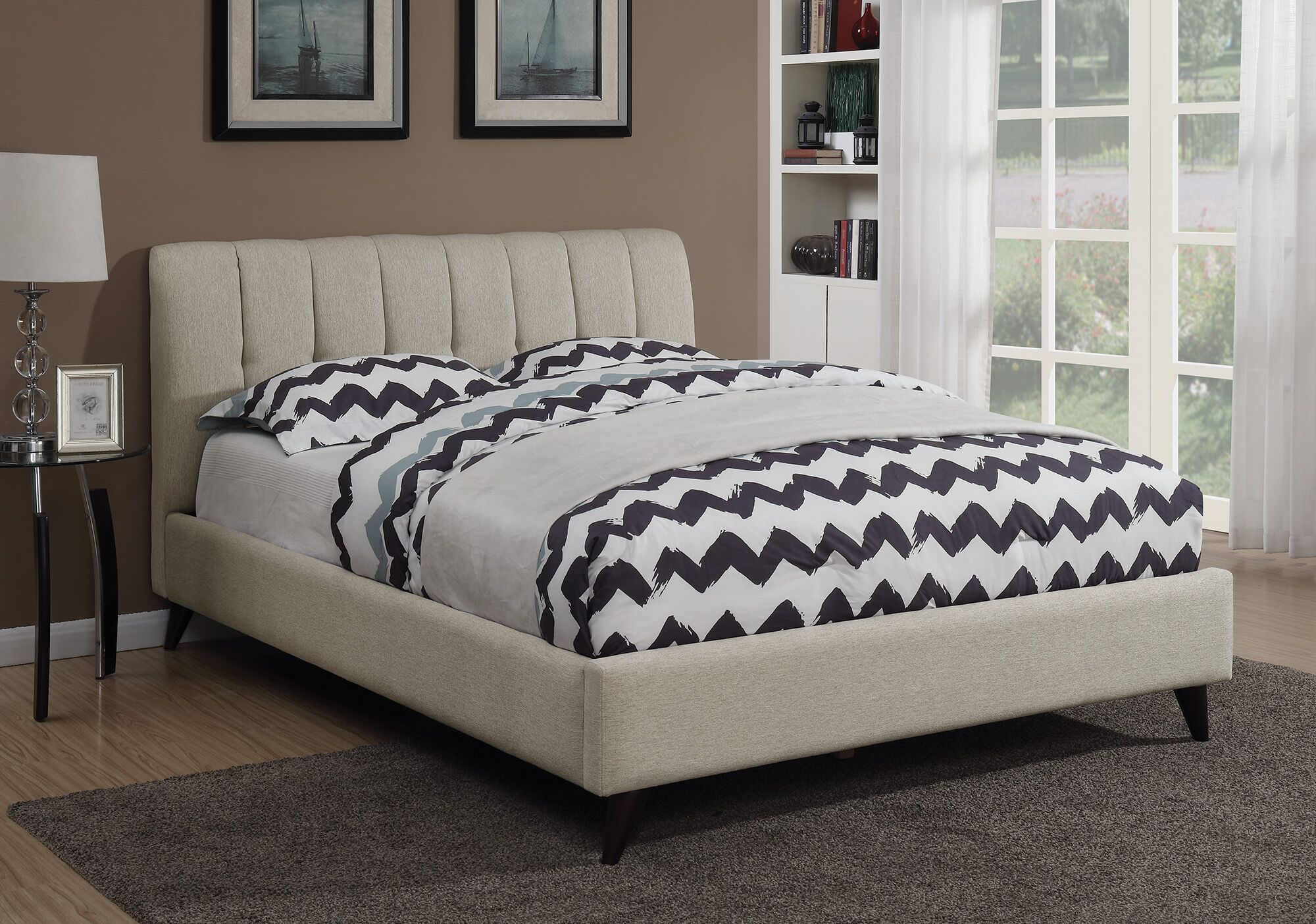 Gillispie Upholstered Panel Bed Size: Twin
