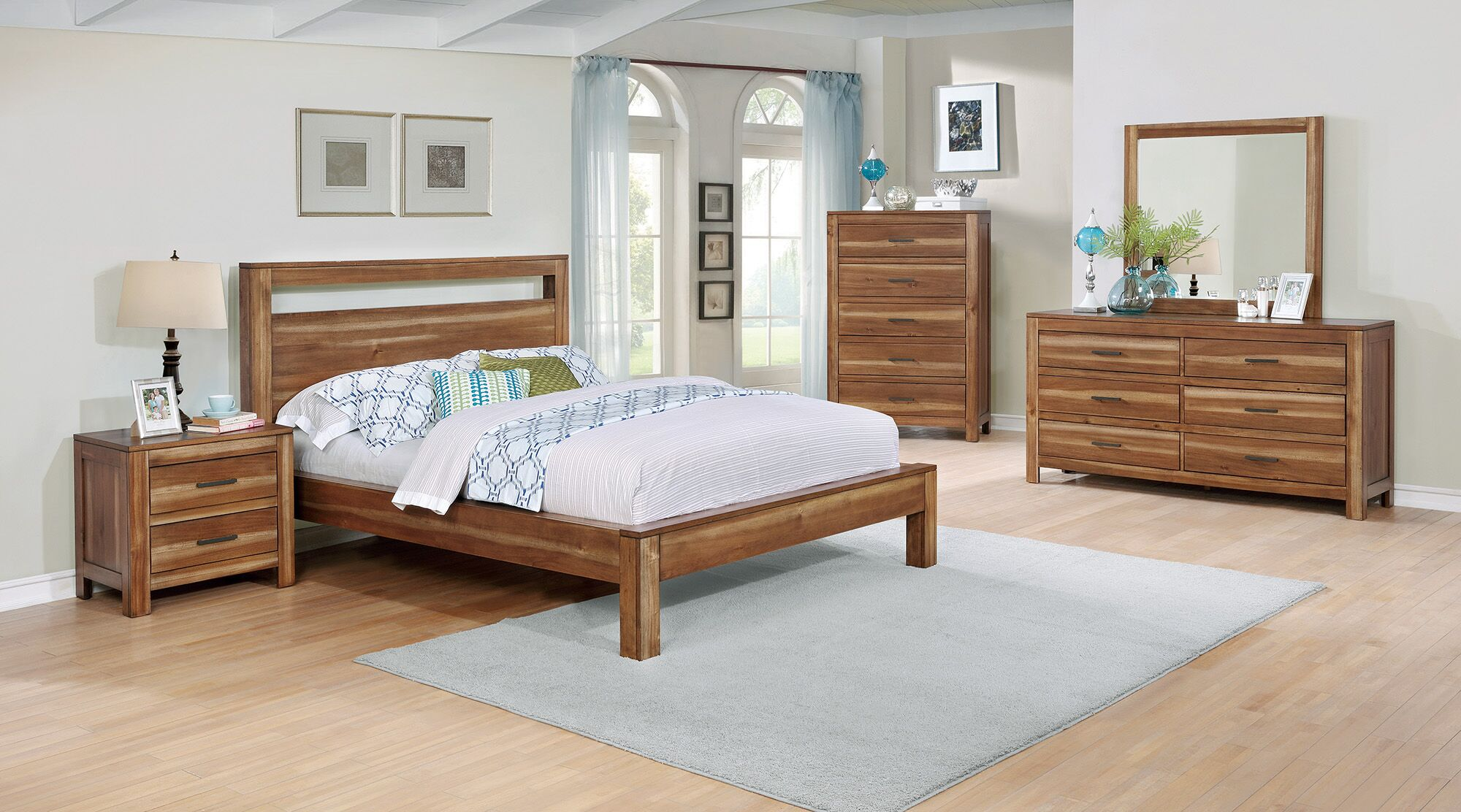 Point Arena Platform Bed Size: California King