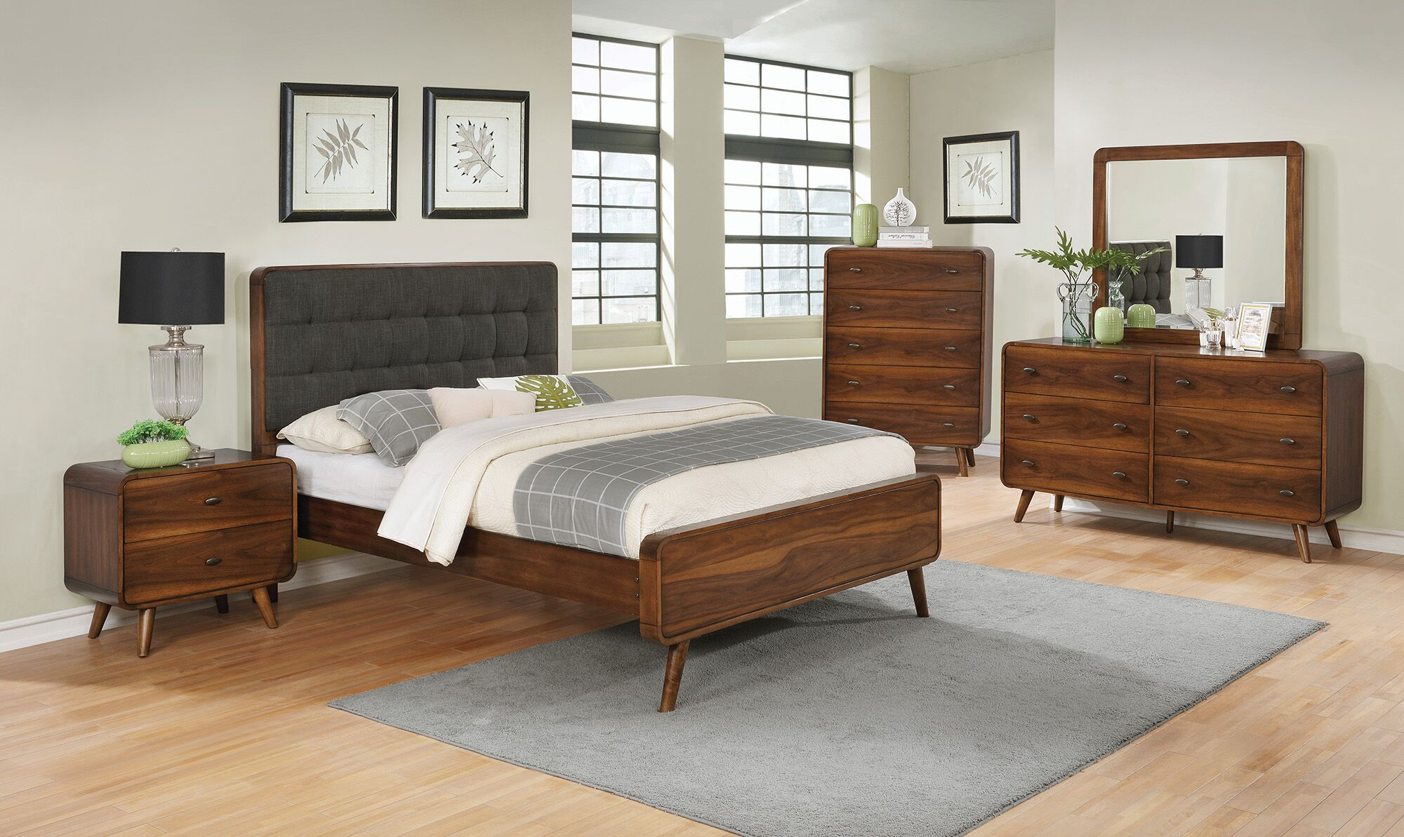 Polkville Upholstered Platform Bed Size: Eastern King