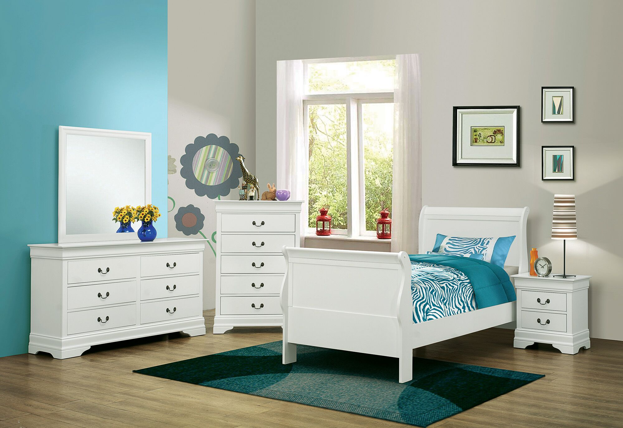 Highfill Storage Sleigh Bed Size: Twin