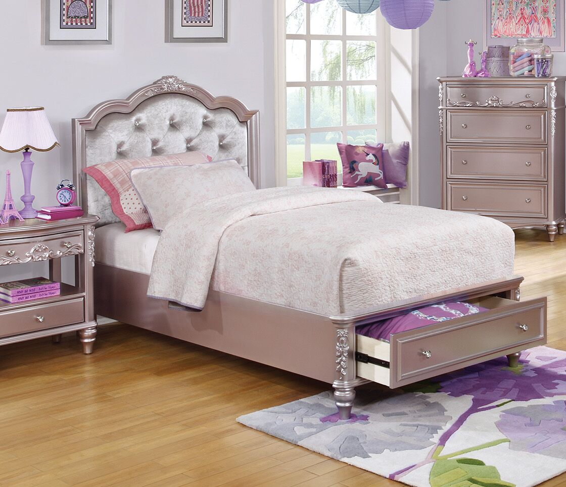 Escalante Upholstered Panel Bed Size: Twin