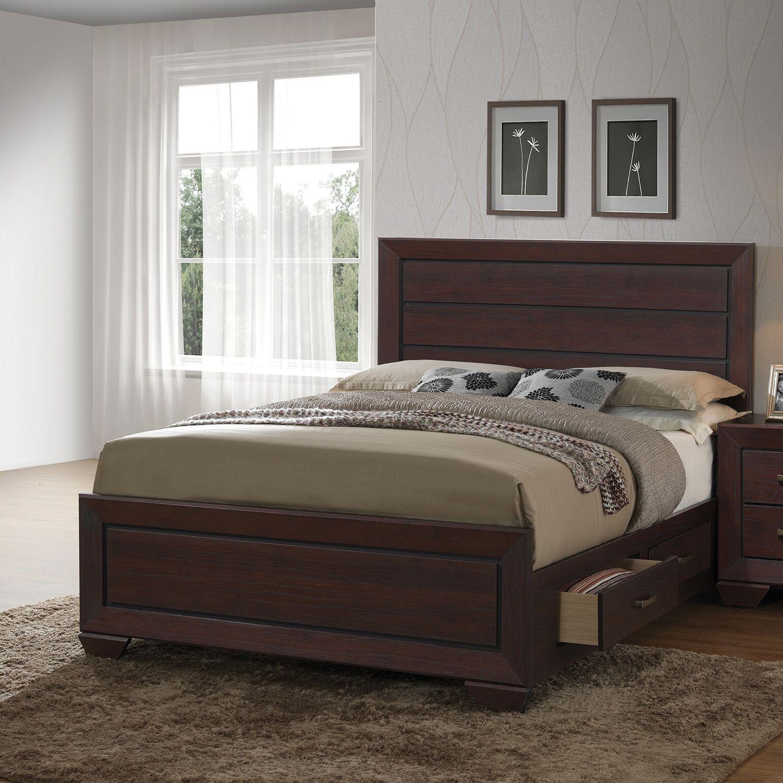 Hilyard Storage Platform Bed Size: Queen
