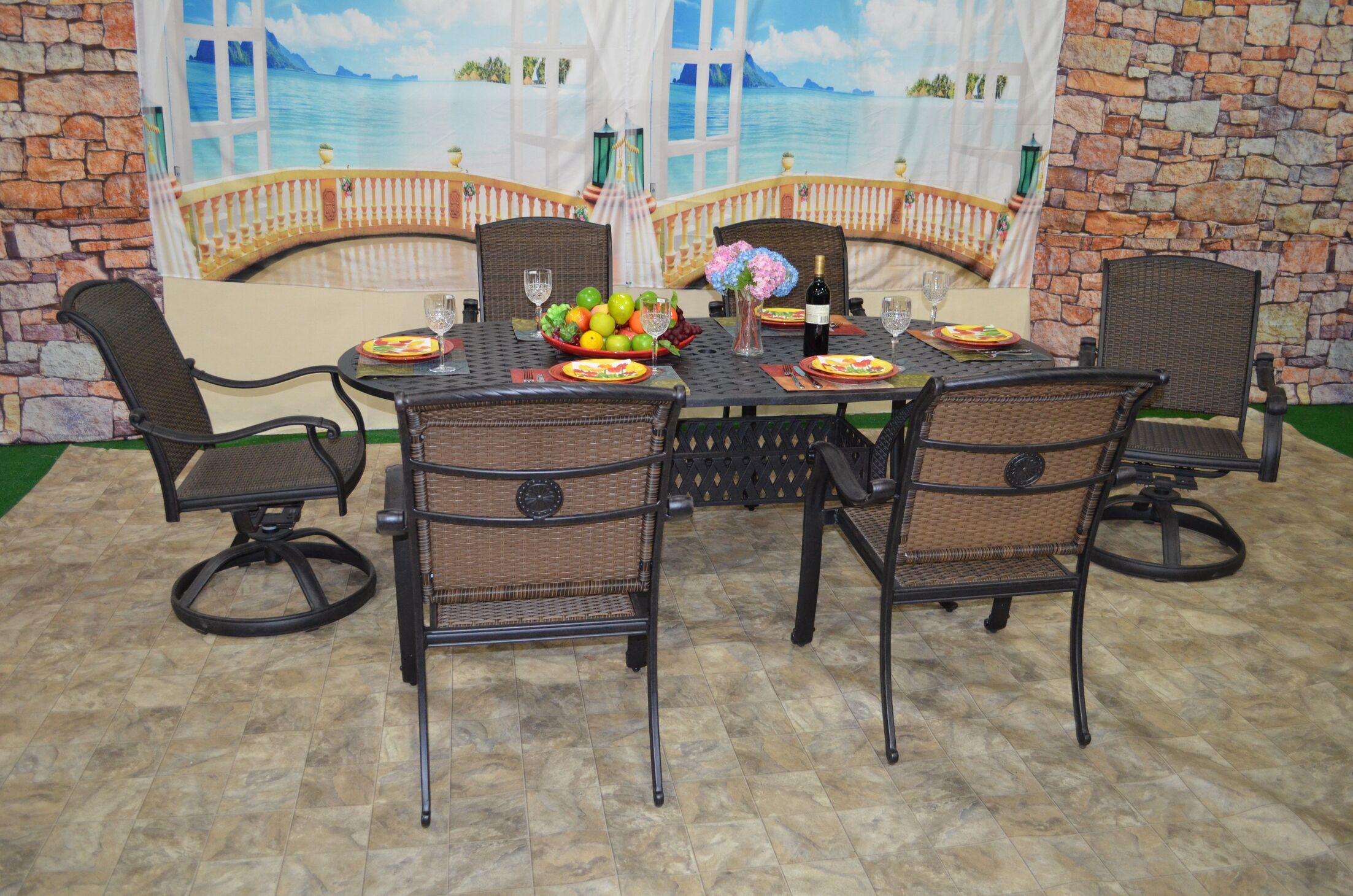 Sherie 7 Piece Dining Set