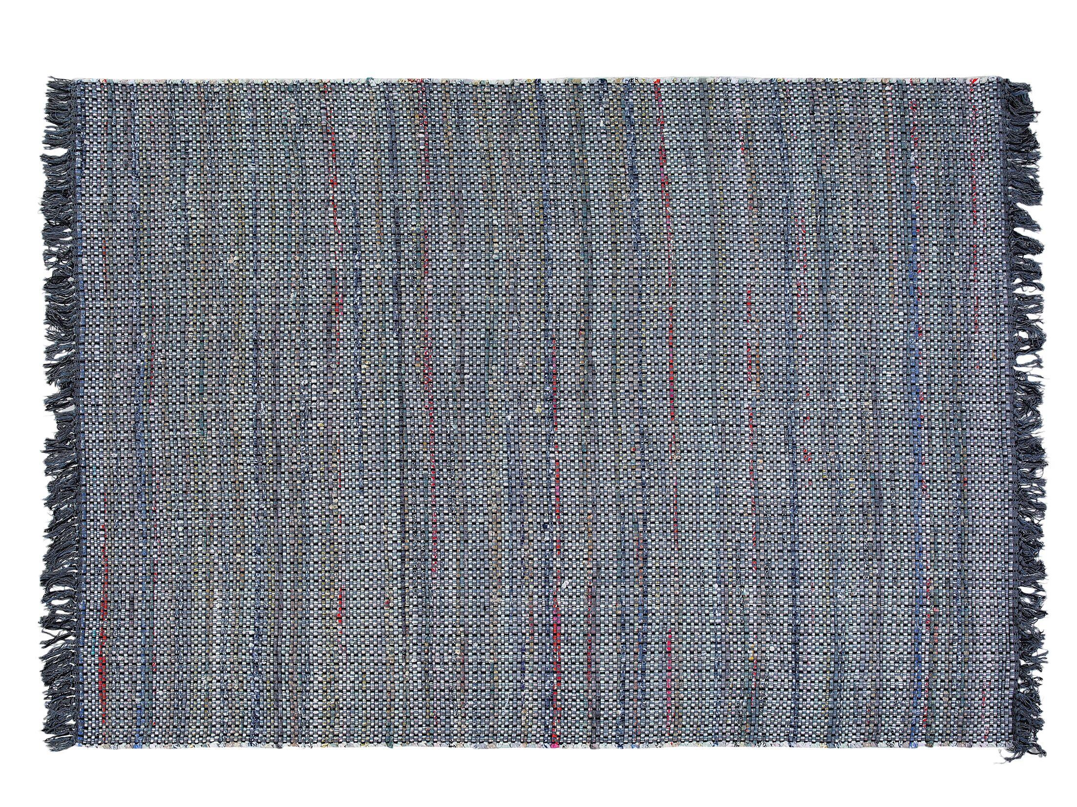 Besni Handwoven Gray Area Rug Size: 5'2