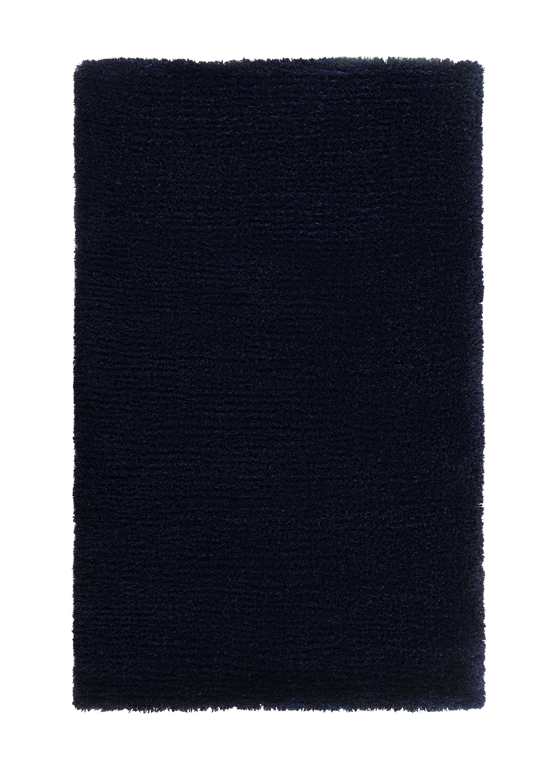 Edirne Hand-Tufted Dark Blue Area Rug Rug Size: Rectangle 2'7