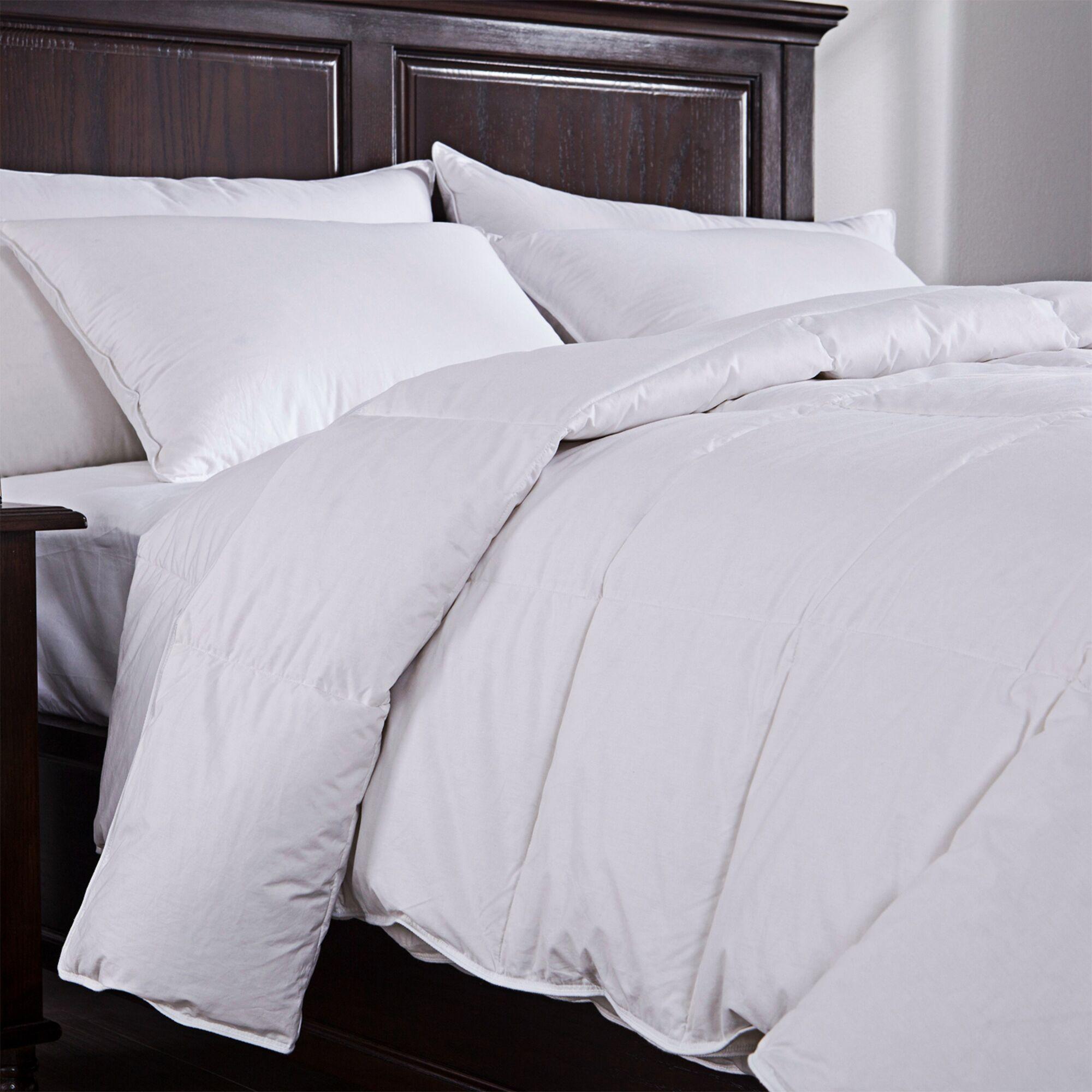 Lightweight Down Comforter Size: Full / Queen