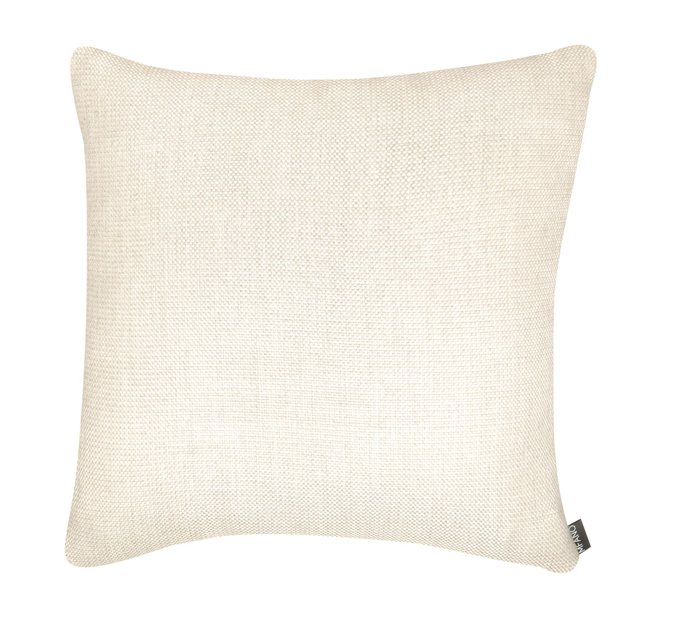 Décor Alyssa Luvs Indoor/Outdoor Throw Pillow Color: Sand Dollar, Size: 24