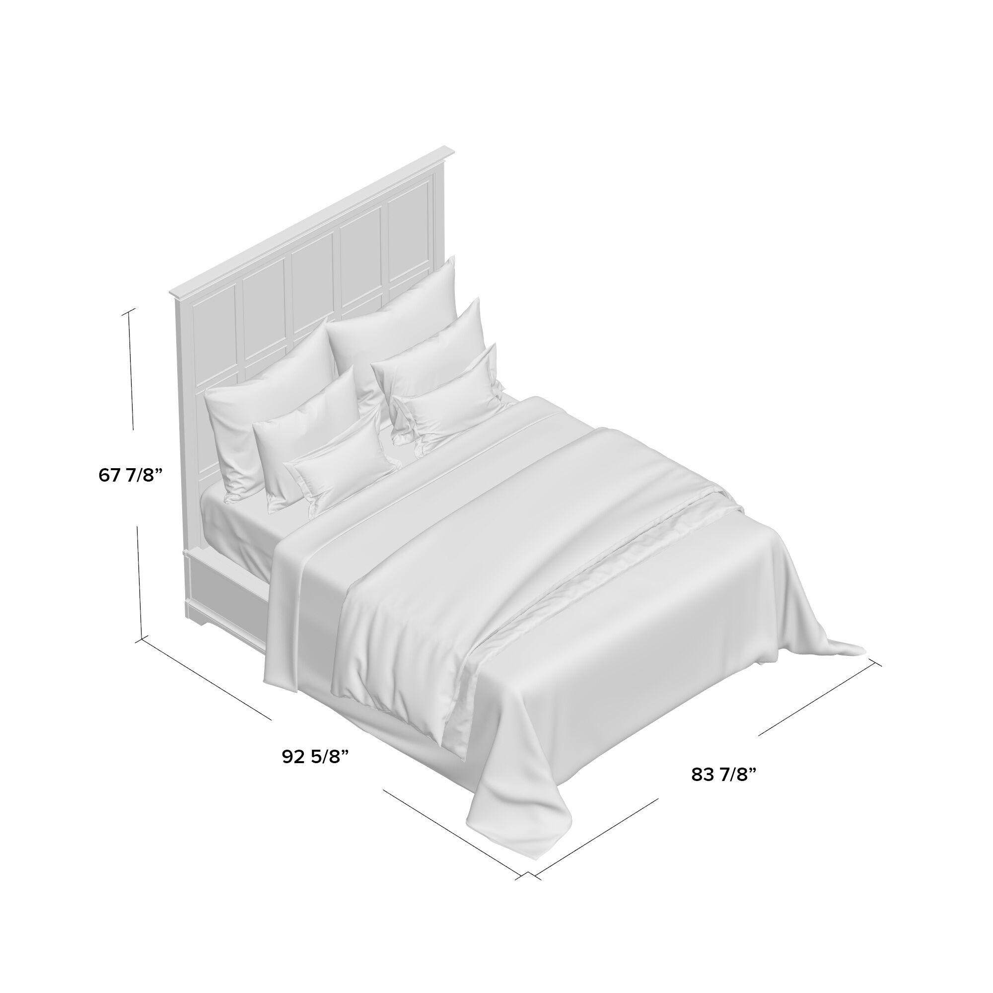 Turner Panel Bed Size: California King