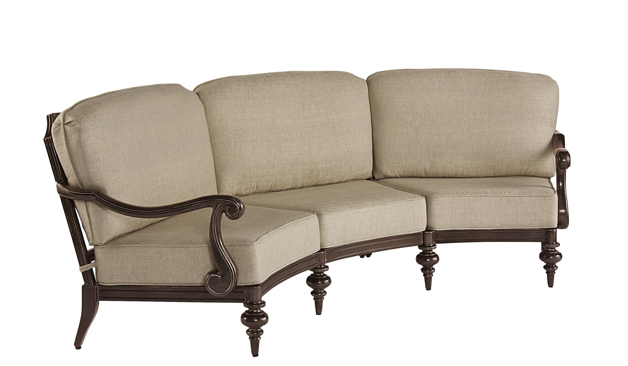 Hargrave Outdoor Sectional Color: Tan
