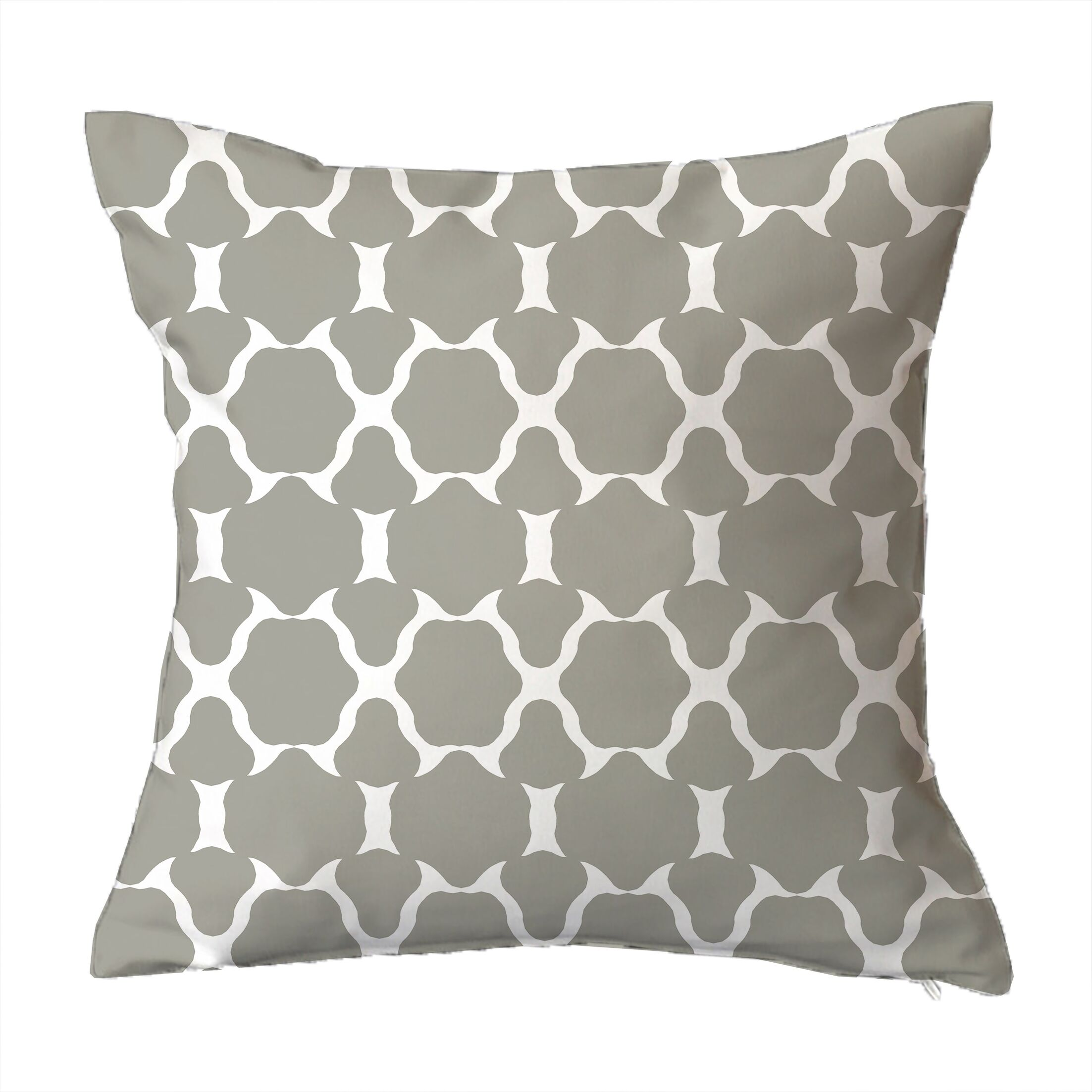 Villa Geometric Throw Pillow Size: 20