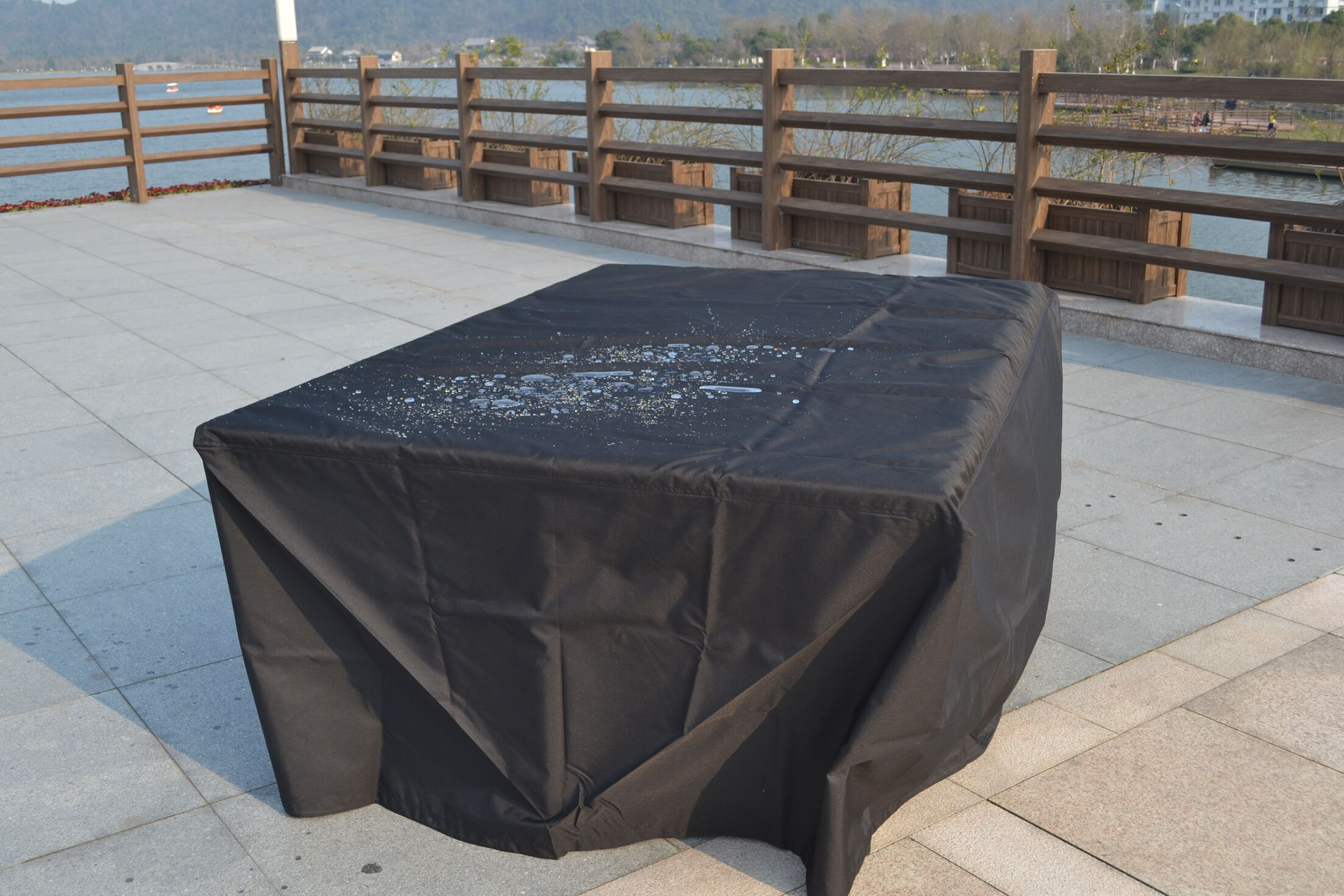 Rectangular Patio Dining Set Covers Size: 27.56
