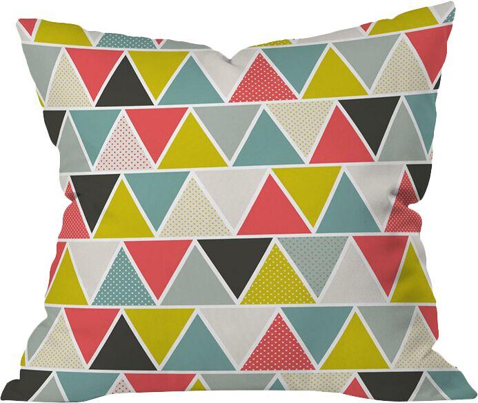 Triangulum Throw Pillow Size: Extra Large
