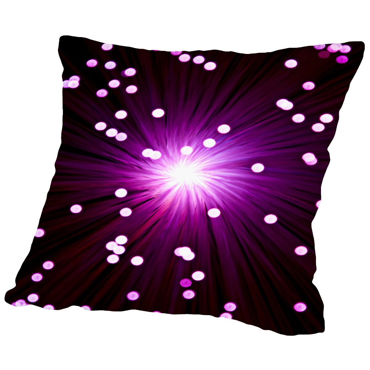 Abstract Throw Pillow Size: 18