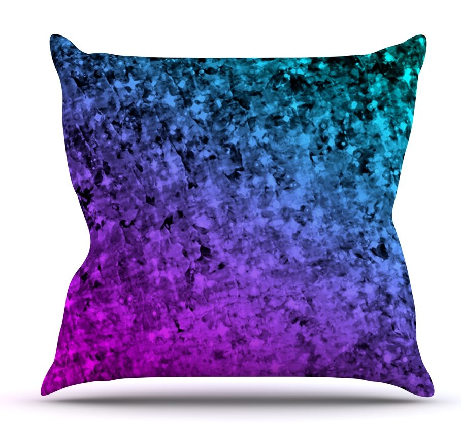 Romance Me at Midnight by Ebi Emporium Outdoor Throw Pillow