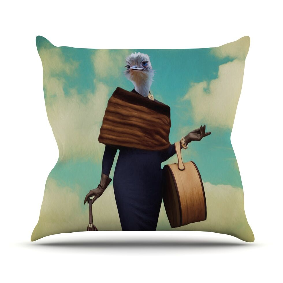 Passenger 1A by Natt Throw Pillow Size: 18