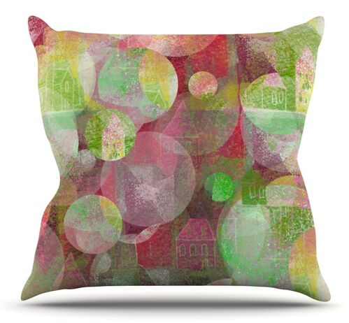 Dream Place by Marianna Tankelevich Outdoor Throw Pillow