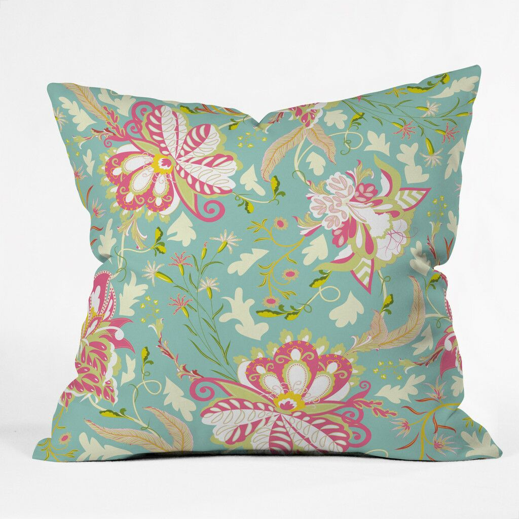 Oh Happiest Day Polyester Throw Pillow Size: 18