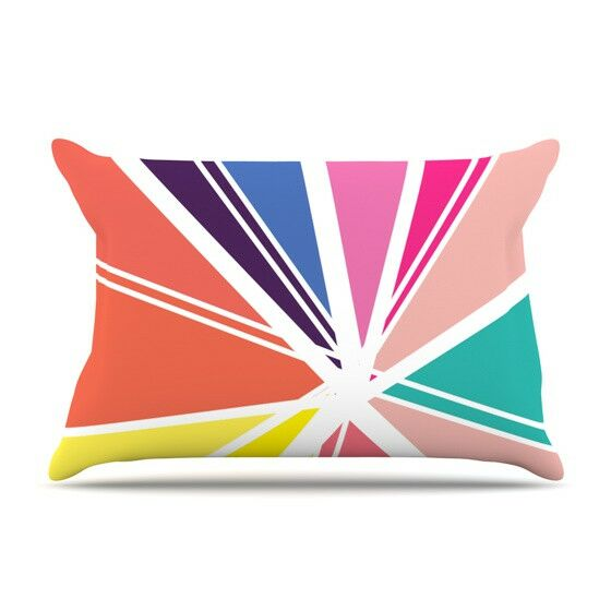 Boldly Bright by Belinda Gillies Featherweight Pillow Sham