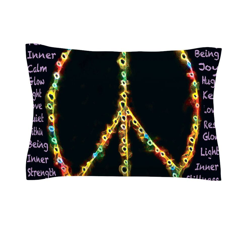 Peaceful Meditation by Anne LaBrie Cotton Pillow Sham