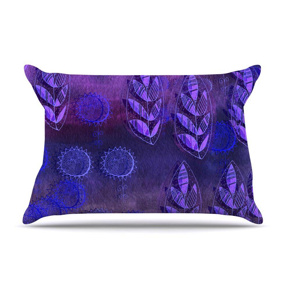 Summer Night by Marianna Tankelevich Lavender Featherweight Pillow Sham