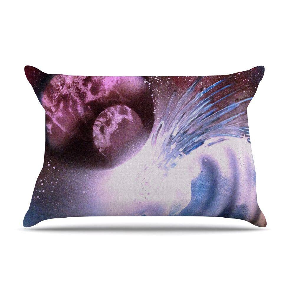 Space Tube by Infinite Spray Art Cotton Pillow Sham