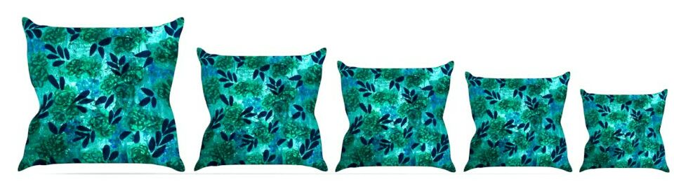 Throw Pillow Size: 18'' H x 18'' W x 3