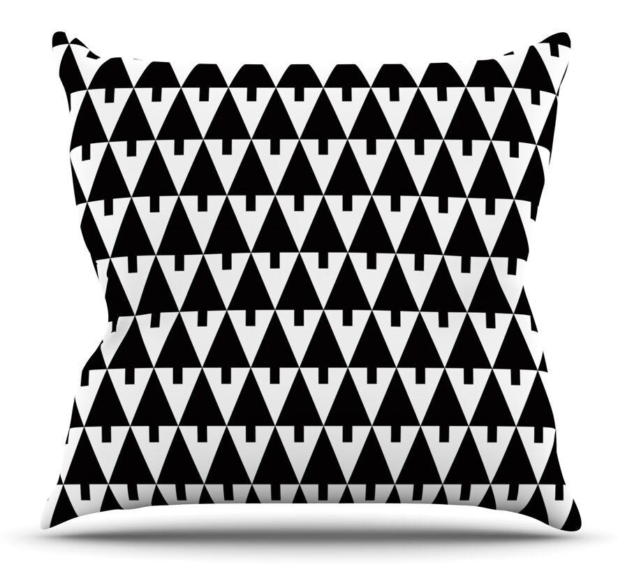 Throw Pillow Size: 26'' H x 26'' W x 5