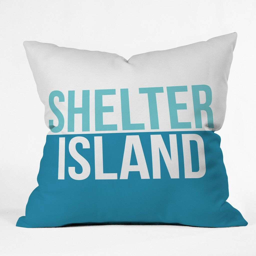 Shelter Island Weekend Polyester Throw Pillow Size: 18