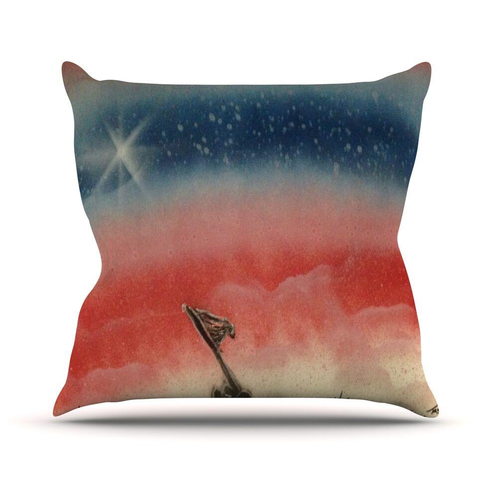 Veteran's Day Throw Pillow Size: 26