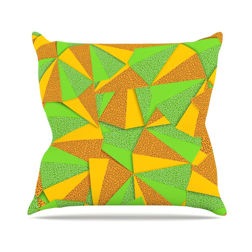 This Side by Danny Ivan Throw Pillow Size: 16