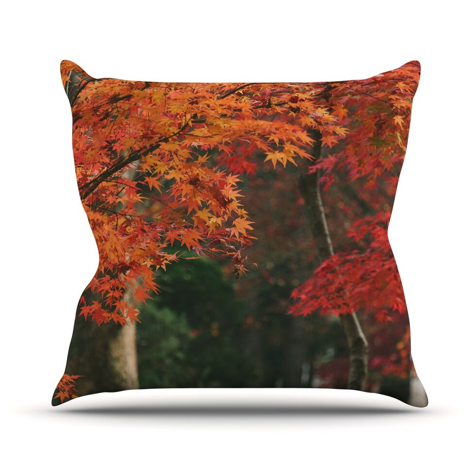 Autumn Sonata by Catherine McDonald Throw Pillow Size: 16