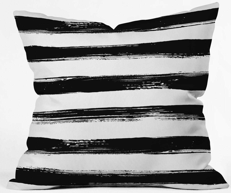 Outdoor Throw Pillow Size: 20