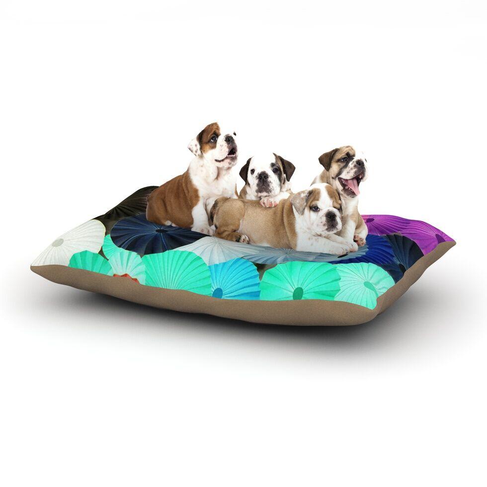 Heidi Jennings 'Graceful' Dog Pillow with Fleece Cozy Top Size: Small (40