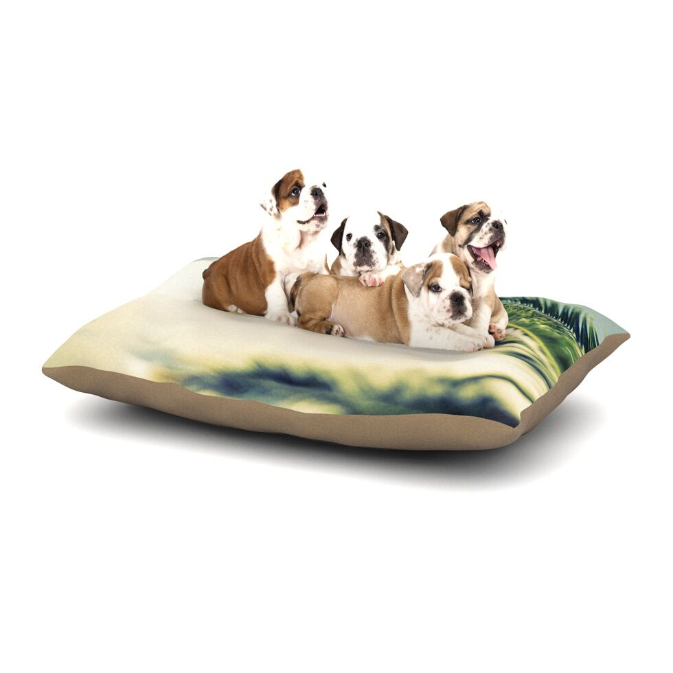 Ann Barnes 'Summer Breeze' Nature Photography Dog Pillow with Fleece Cozy Top Size: Small (40