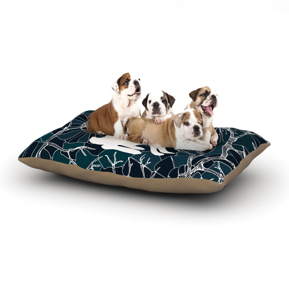 Anchobee 'Hare' Dog Pillow with Fleece Cozy Top Size: Small (40