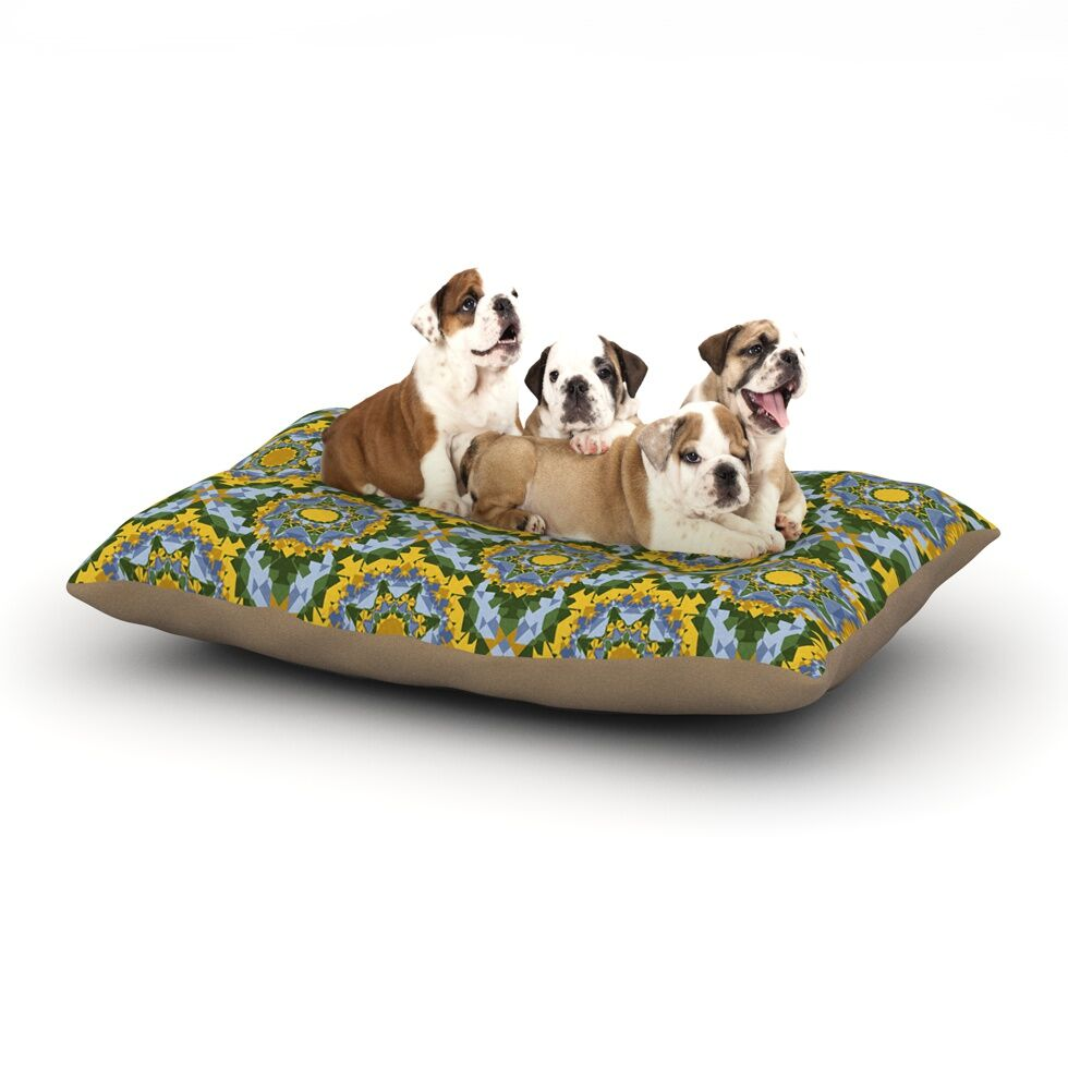 Anneline Sophia 'Aztec Boho' Dog Pillow with Fleece Cozy Top Size: Small (40