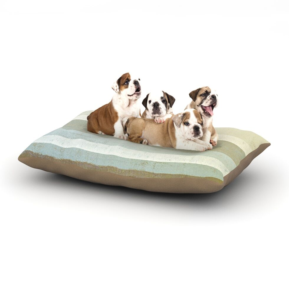 CarolLynn Tice 'Invent' Dog Pillow with Fleece Cozy Top Size: Small (40