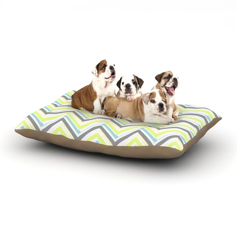 CarolLynn Tice 'Ideal' Dog Pillow with Fleece Cozy Top Size: Small (40