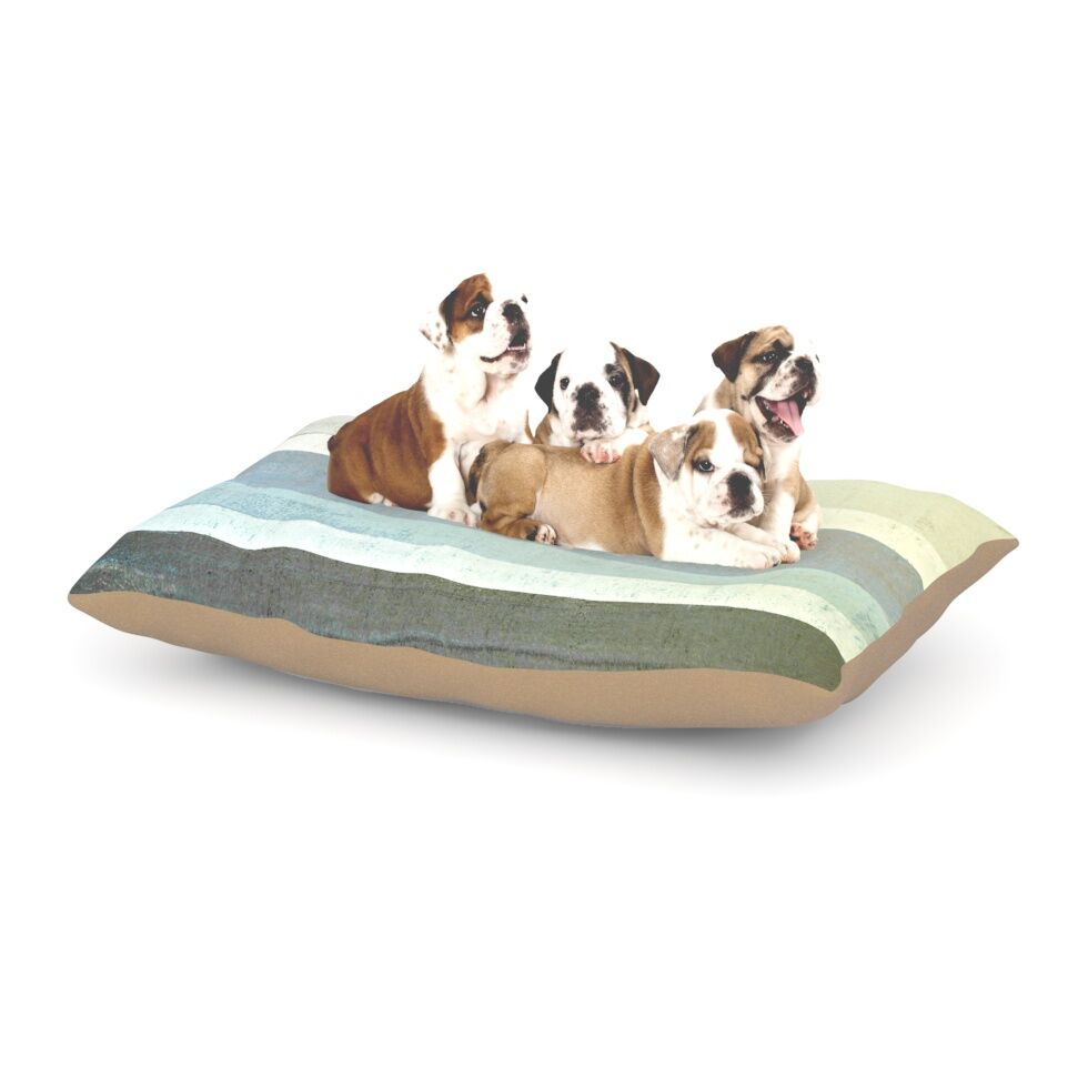 CarolLynn Tice 'No Limits' Dog Pillow with Fleece Cozy Top Size: Small (40